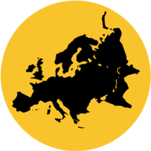 Resettlement Resources - European map icon for resettlement resources in Europe